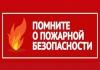 Памятка для детей и родителей о пожарах на природных территориях